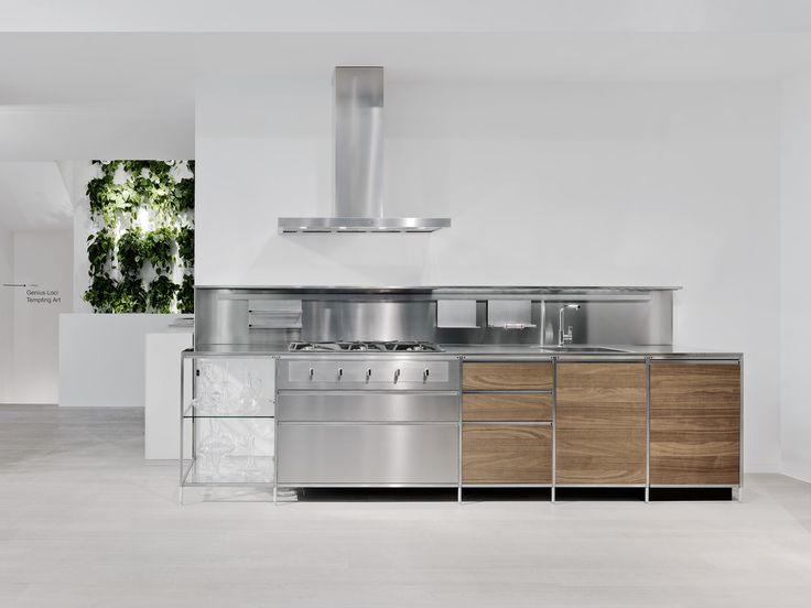 Meccanica Valcucine #flagship store #milan #showroom #kitchens #cabinets
