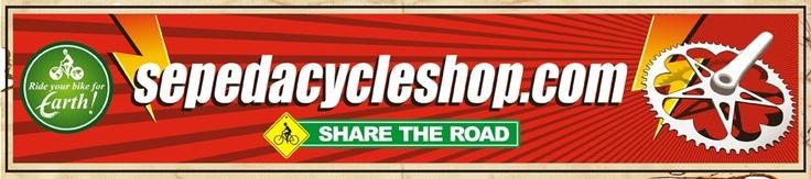 toko sepeda online sepedacycleshop.com jual sepeda gunung bmx balap frame fork wheelset grupset sepatu helm dll