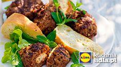 Bifteki z fetą. Kuchnia Lidla - Lidl Polska. #kuchniagrecka #bifetki #feta
