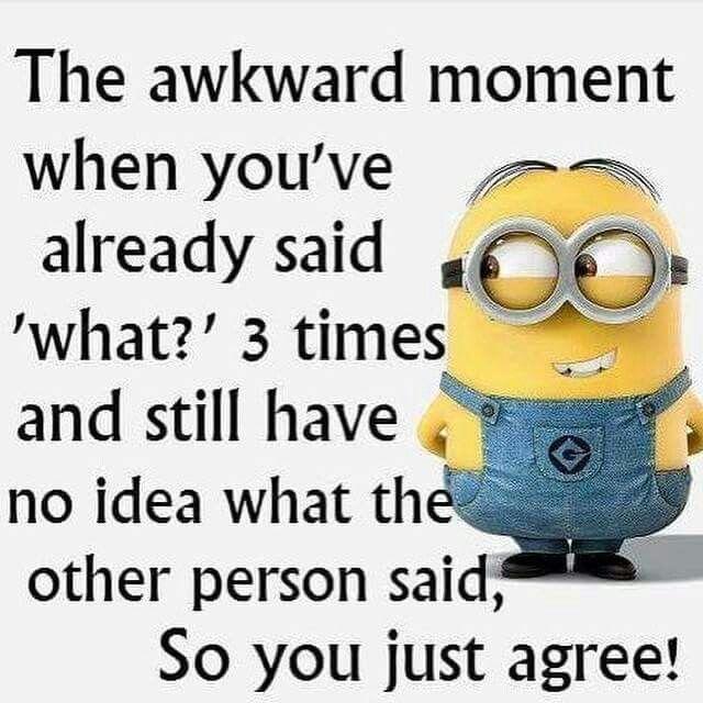Awkward...