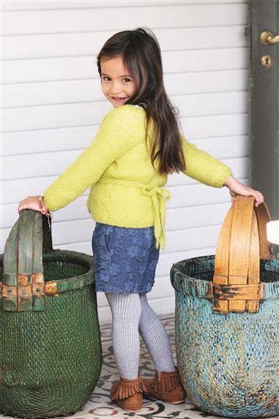 1512: Design 19 Omslagsjakke i rillestrikk #strikk #knit