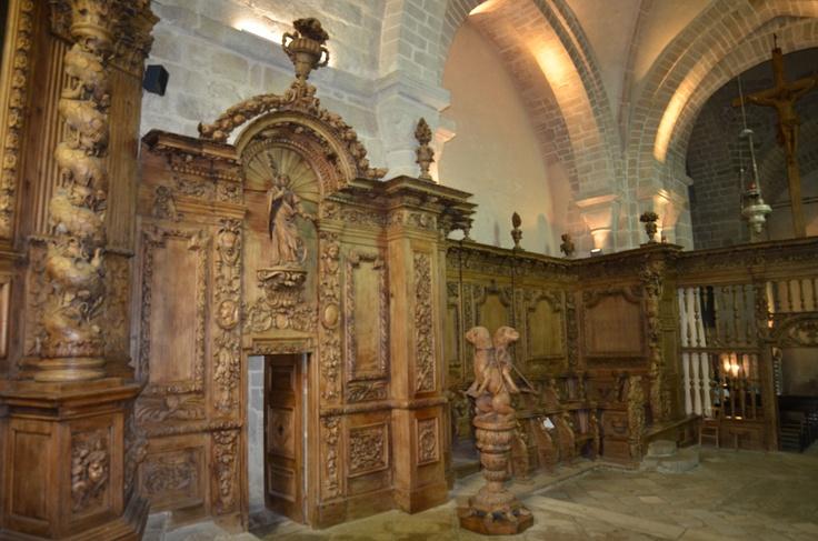 Eglise de Moutier d'Ahun, Creuse FRANCE. CHURCH Of MOUTIER D AHUN , creuse, France