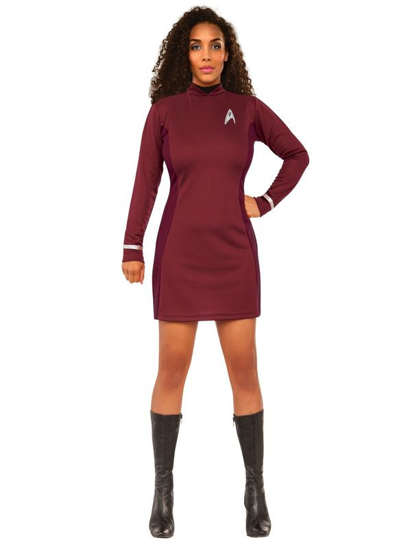 star trek beyond uhura classic adult costume women medium red - Best Halloween Costumes Female