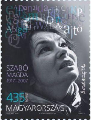 Hungary - 2017 Magda Szabó, Single (Pre-Order) (MNH) – Hungaria Stamp Exchange