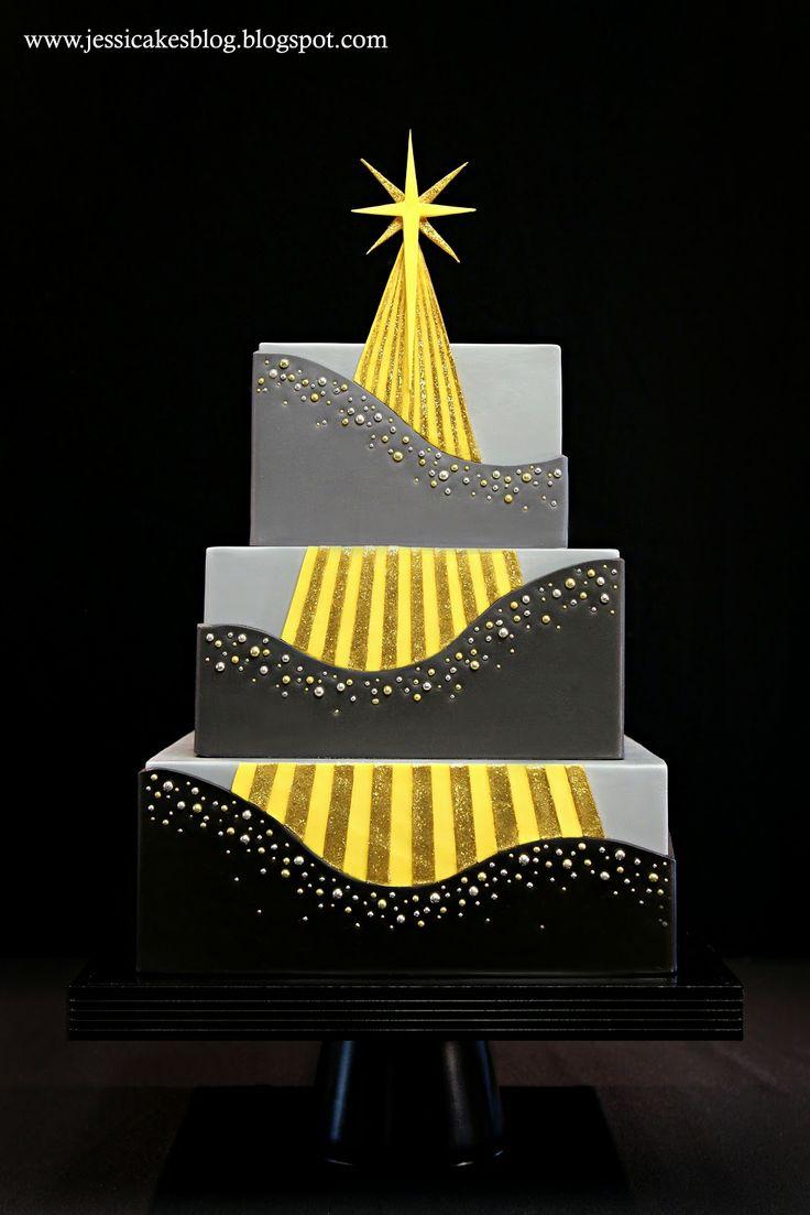 The Star of Christmas Cake