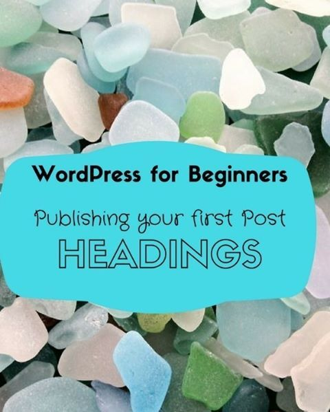 Publishing Your First Post----WordPress For Beginners: a Tutorial  #blog #blogging #wordpress #tutorial #wehearthandmadebling