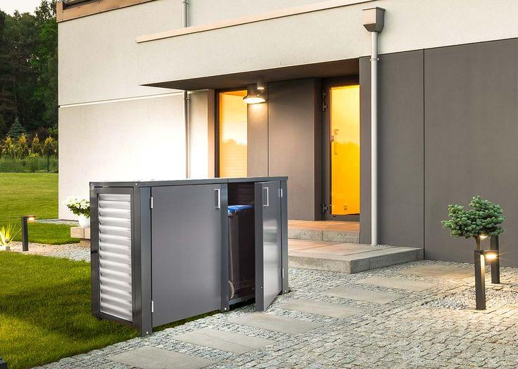 die besten 25 m lltonne 120 l ideen auf pinterest m lltonnenh uschen m llboxen und. Black Bedroom Furniture Sets. Home Design Ideas
