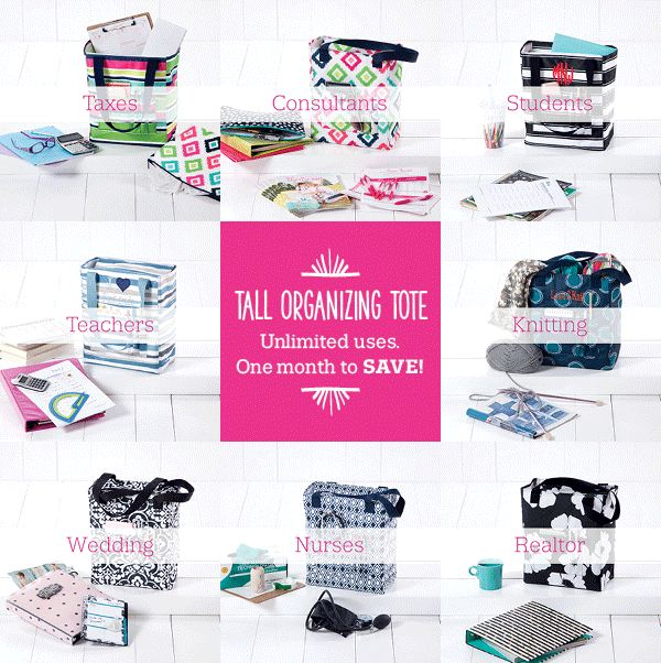 Thirty-One Gifts – Tall Organizing Tote-Unlimited Uses