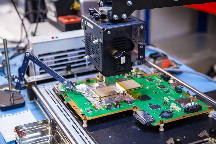 PS3 CPU Socket Installation #ps3 #tfix #solderinglab www.tfix.co.uk