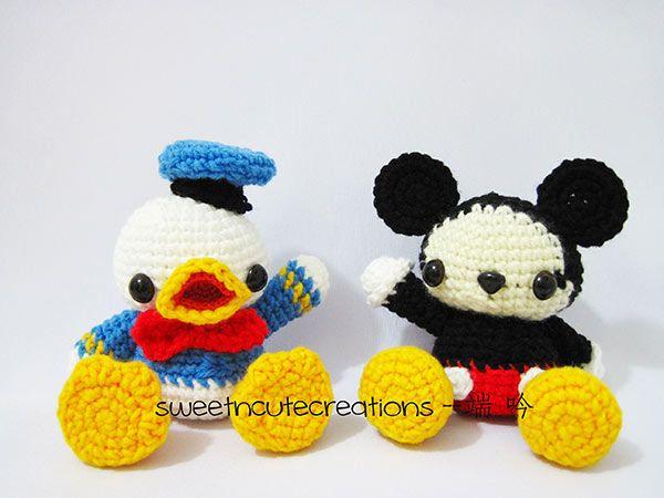 Amigurumi Donald Duck : 17 mejores imagenes sobre amigurumi cartoons and games en ...