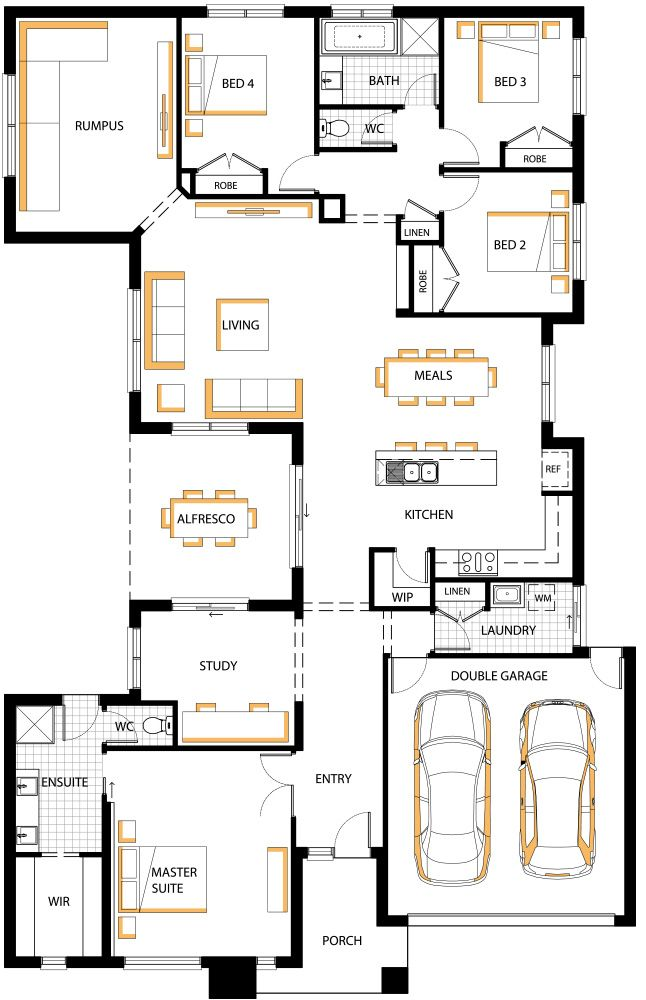 357 best Homes - Special images on Pinterest | Floor plans, House ...