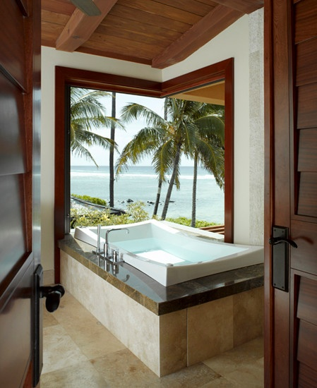 Hawaiian Home Design Ideas: Tropical Bathroom Design, Pictures, Remodel, Decor And
