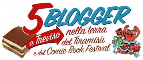 Domani si parte per Treviso!  Tiramisù e comic arriviamo!