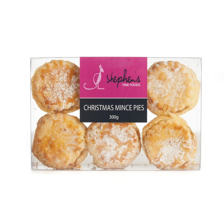 Christmas Mince Pies: Our home made mince pies are a family favourite. Made with delicious fruit mince encrusted in shortbread pantry. A wonderful addition to your festive celebrations. $14.95