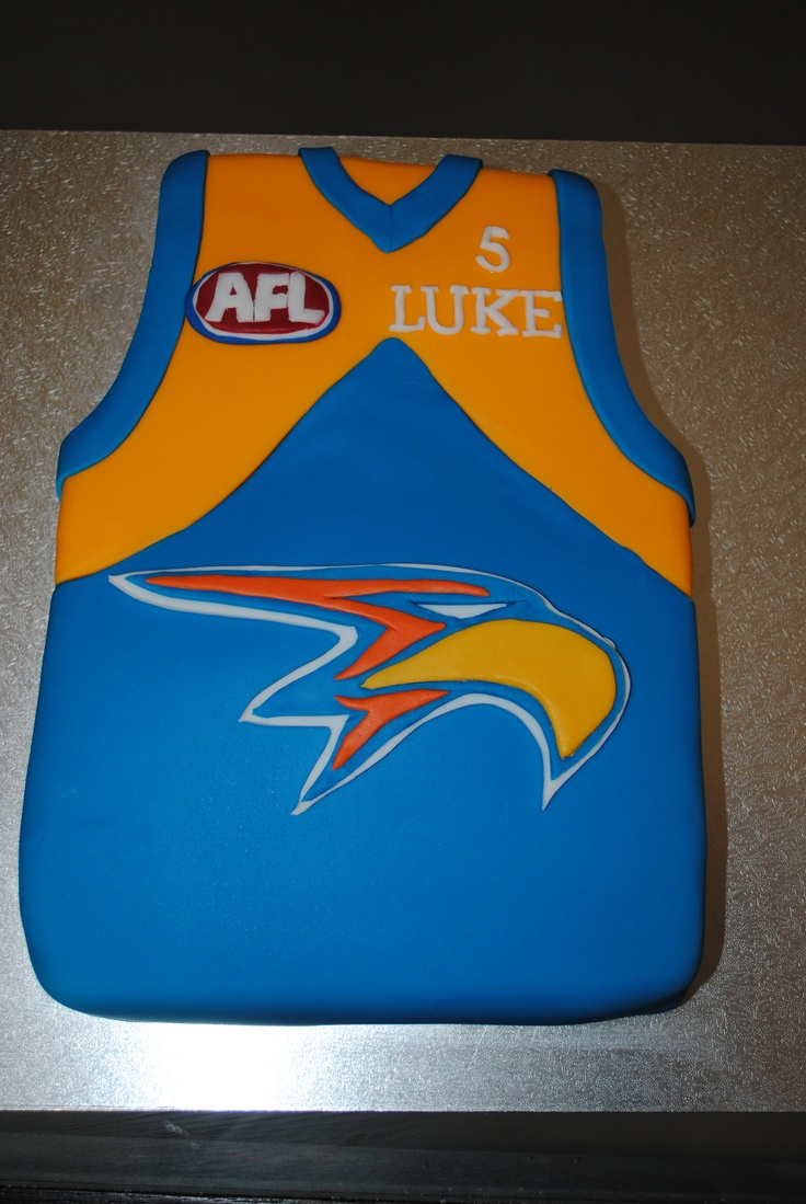 Another West Coast Eagles cake | Cakes I have made | 14th ...