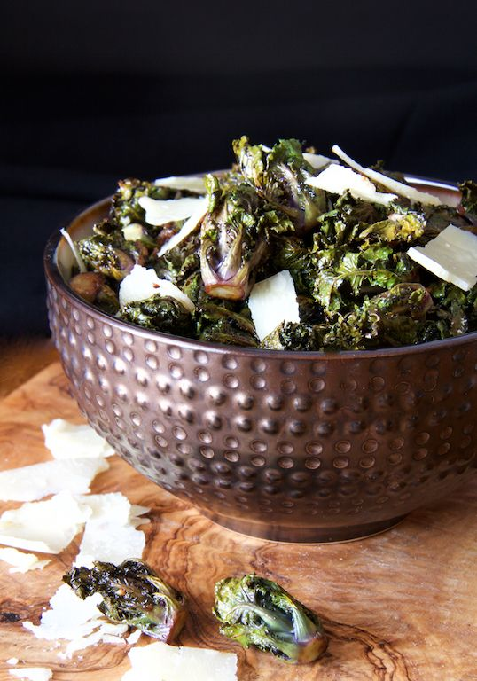 http://www.acookbookobsession.com/balsamic-roasted-kale-sprouts-parmesan-shards-2/