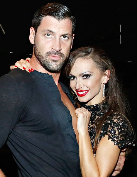 dancing with the stars max and peta dating Maks, val, and maks' wife peta murgatroyd, also a former dwts pro, teamed up  for a nationwide tour called confidential that is currently taking.