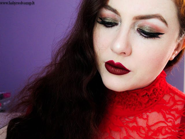 Babyredvamp Makeup: The Last Makeup Of The Year - Tears Of Blood (with...