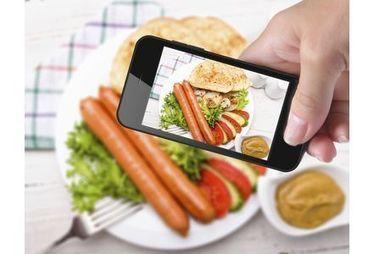 Une application pour compter les calories d'un plat à partir d'une photo