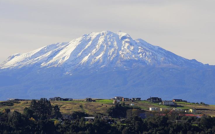 Volcán Calbuco, Reserva Forestal Llanquihue.