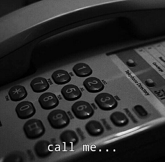 Make a Phone call...quick...