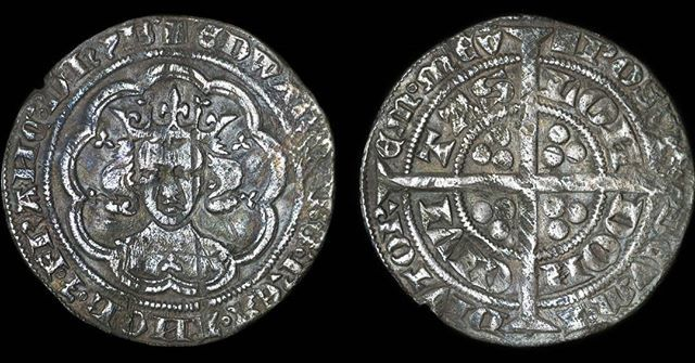 For sale in our Etsy shop! Edward III silver groat. Made in England 1351 - 1352 making this coin almost 700 years old! Visit our Etsy shop - GREATBRITISHCOINS #coin #coins #numismatic #numismatics #british #england #english #silver #medieval #medievalcoin #etsy #etsyshop #forsale #money #portrait #groat #currency #london #greatbritish #greatbritishcoins #history #historic #ownapieceofhistory #edwardiii #kingofengland #got #viking