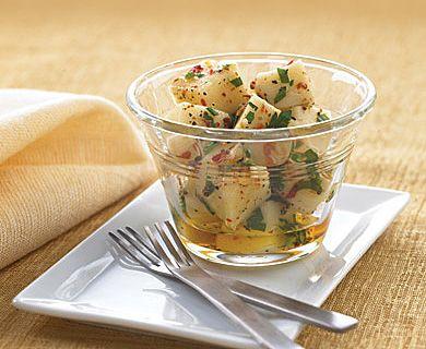 Marinated Mozzarella #appetizer #recipe