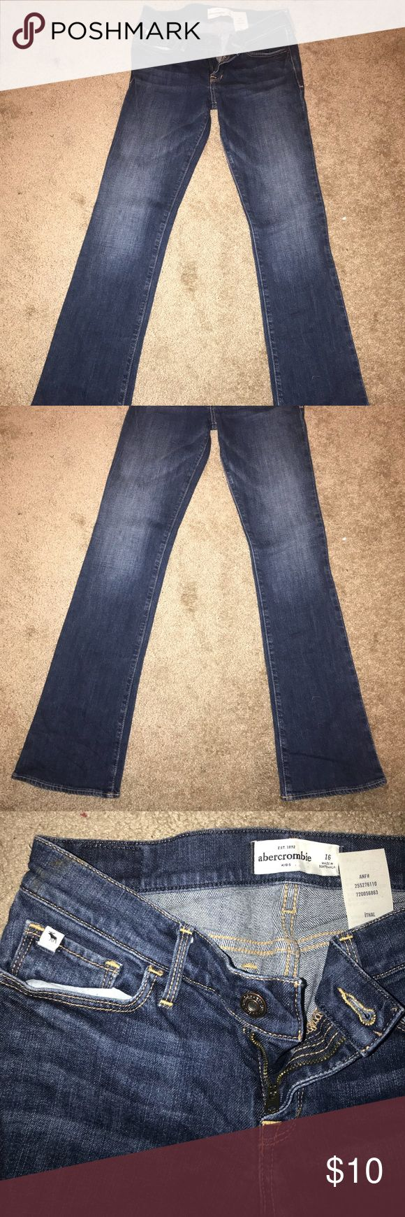 KIDS ABERCROMBIE JEANS SIZE 16 Girls Abercrombie jeans size 16 beautiful condition no stains or holes. Abercombie Kids Bottoms Jeans