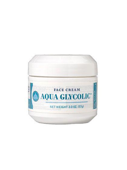 Hope, it's aquaglycolic facial cream phrase