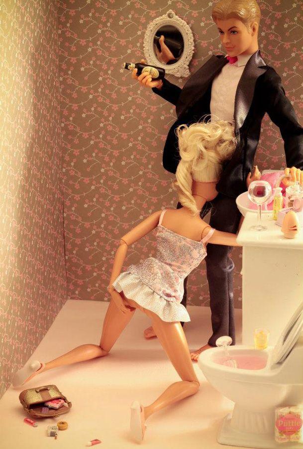 Barbie Trashy by Mariel Clayton