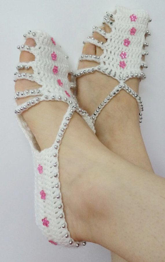 Bridesmaid Slippers Women Slippers Wedding Gift Beaded