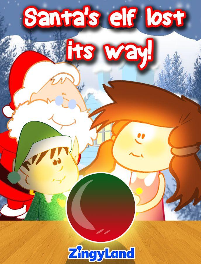 Santa's elf lost its way!