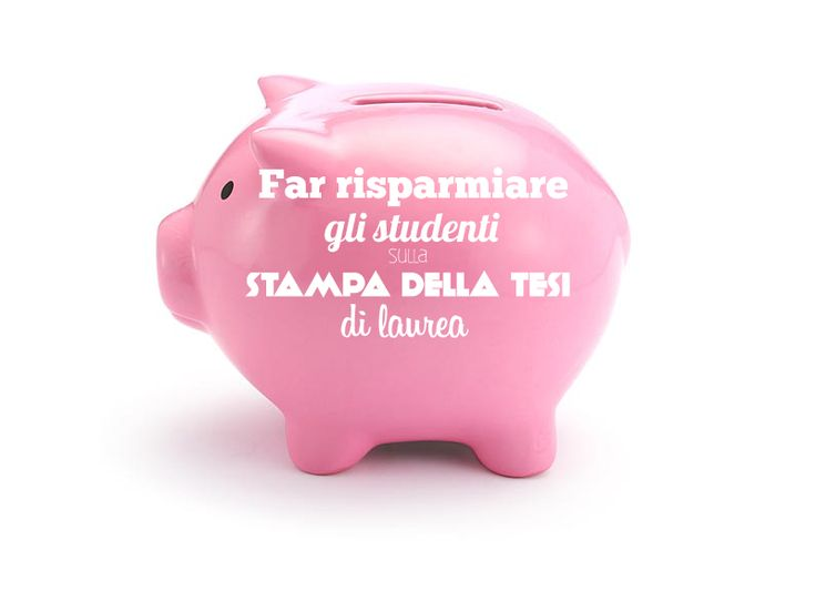 Anche noi vogliamo proporre la nostra legge finanziaria: ogni giorno aiutiamo migliaia di studenti a risparmiare sulla stampa della #tesi di laurea.  Un aiuto concreto per tutti gli universitari italiani. :)