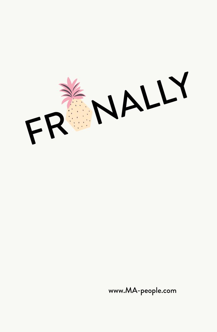 Frinally ;-)! Have a pineapplelicious weekend  #FriYAY #TGIF #HappyWeekend