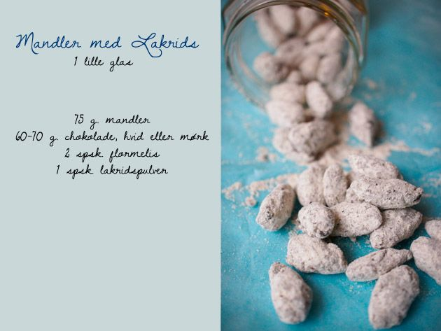 Mandler med lakrids – The Food Club