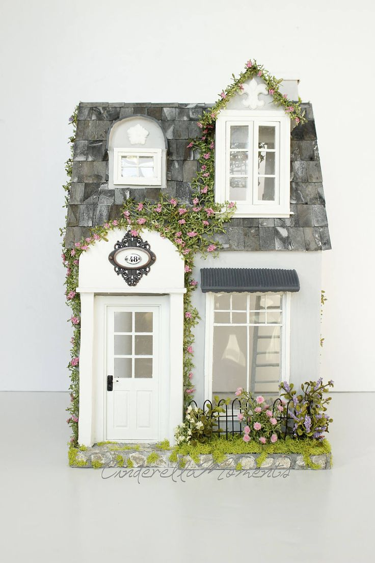 Victorian miniature houses - Promenade Townhouse Custom 1 12 Dollhouse By Cinderellamoments On Etsy Model Housedollhouse Miniaturestownhousedoll