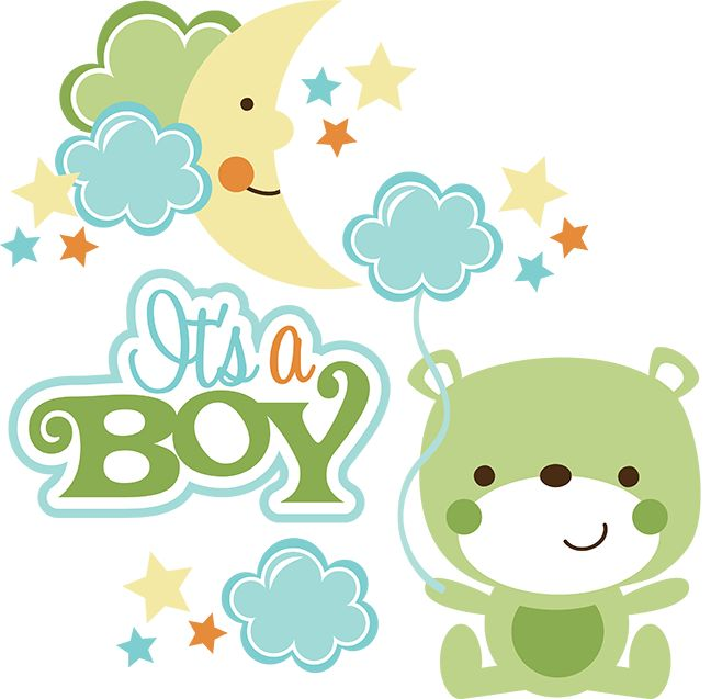 It's A Boy SVG scrapbook collection baby boy svg files for ...