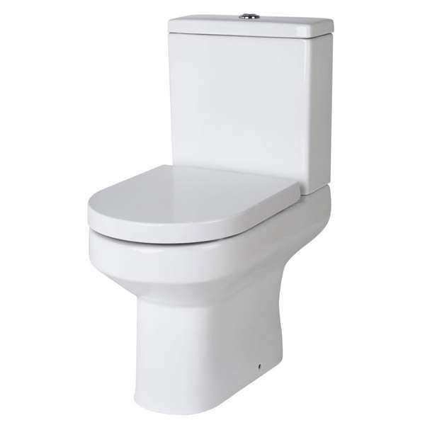 Stadium Bathrooms - Alaska Pan Cistern inc Soft Close Seat | Toilets | QX