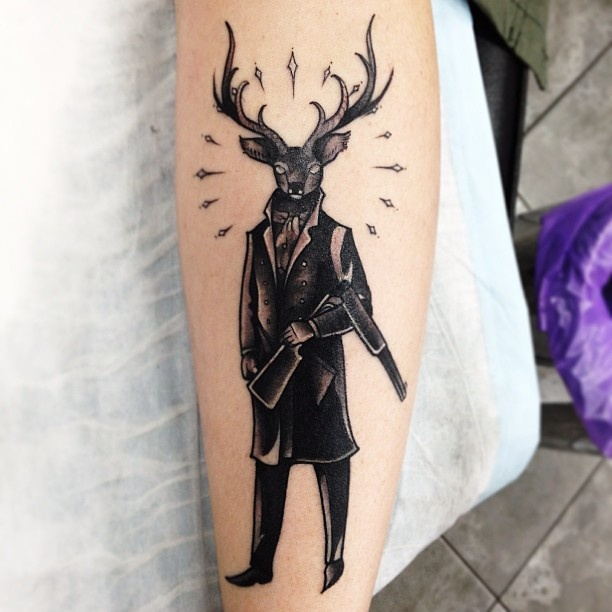 Images Pictures Tattoos Hunter: Best 25+ Hunter Tattoo Ideas On Pinterest