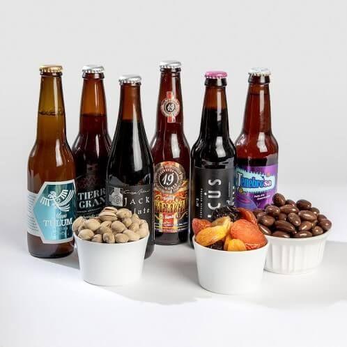 Canasta de Cervezas Artesanales