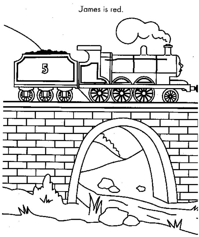 Thomas The Tank Engine Coloring Pages My Board Pinterest