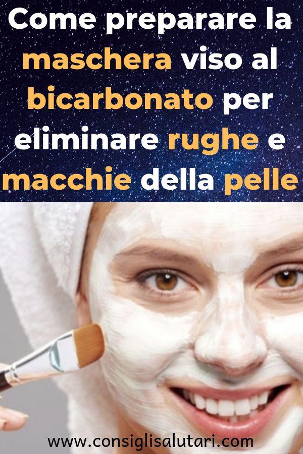 Come preparare la maschera viso al bicarbonato per eliminare rughe e macchie del…