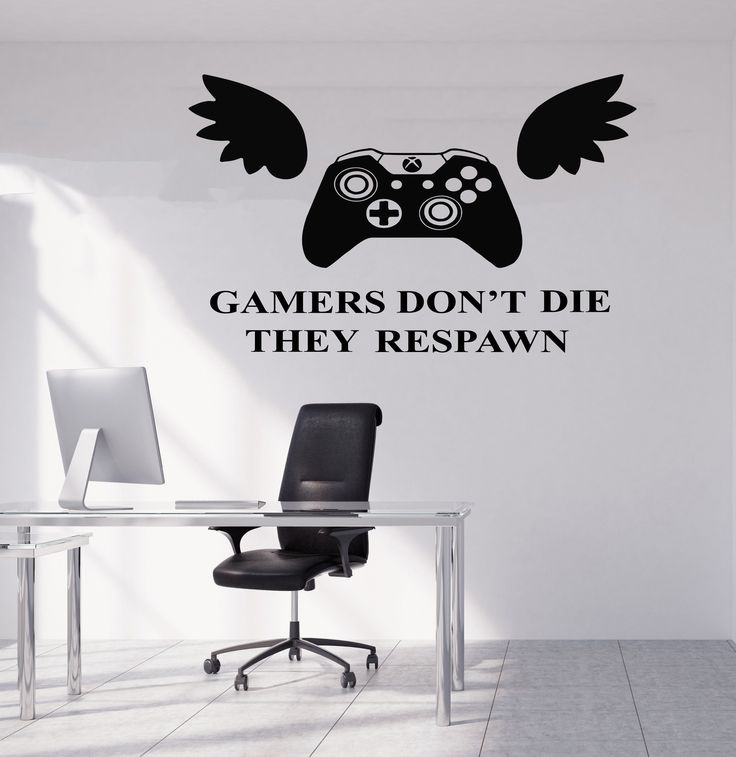Gamer Wall Decal Gamer Decals Controller Decals Personalized Gamer Room 3048
