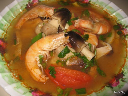 Tom Yum Hot and Sour soup