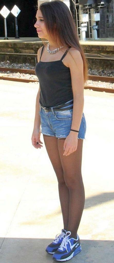 Right! candid teen skirt