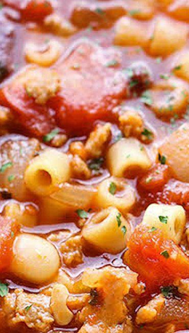 Olive Garden Pasta e Fagioli