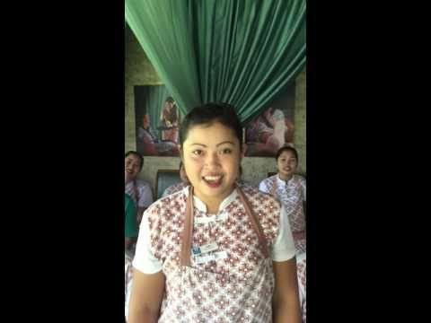 New staff number 2 AromaSpa Retreat