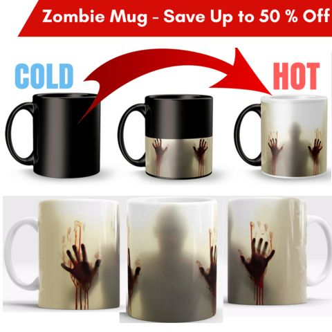 Check out these Awesome Morphing The Walking Dead Zombie Mug! Just add Hot Liquid & the Zombies will appear! ❤ Don't Miss this Limited Time OFFER for up to 40% OFF.