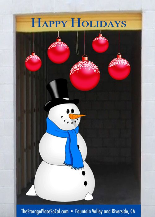 #TSPHoliday Happy Holidays From The Storage Place In Fountain Valley And  Riverside, CA!