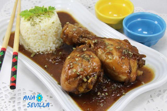 Una salsa que os enamorará, dedicado a mi hija, Sheila, fan number ONE de esta receta Jamoncitos de pollo teriyaki, pero a mi manera. Con Thermomix.     Para más informaciónpincha aquí!! PINCHA AQUÍ